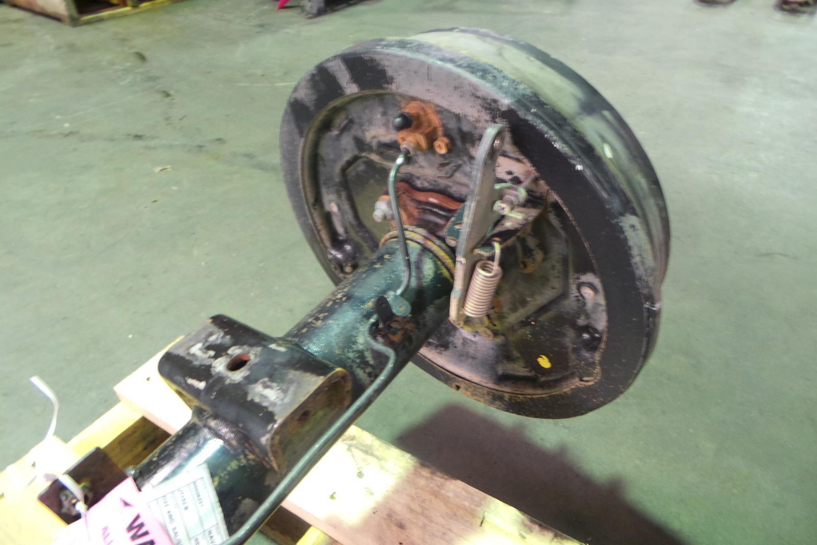 Salisbury Rear Axle : Nissan navara rear diff assembly d wd salisbury type